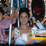 Jane Marks with her son, Tommy, at Expo '74.