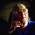 Lippie Marks in her living room, Spokane, Wa.